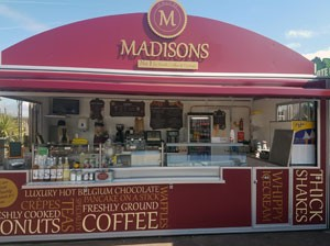 Madisons - No 1 for fresh coffee and donuts