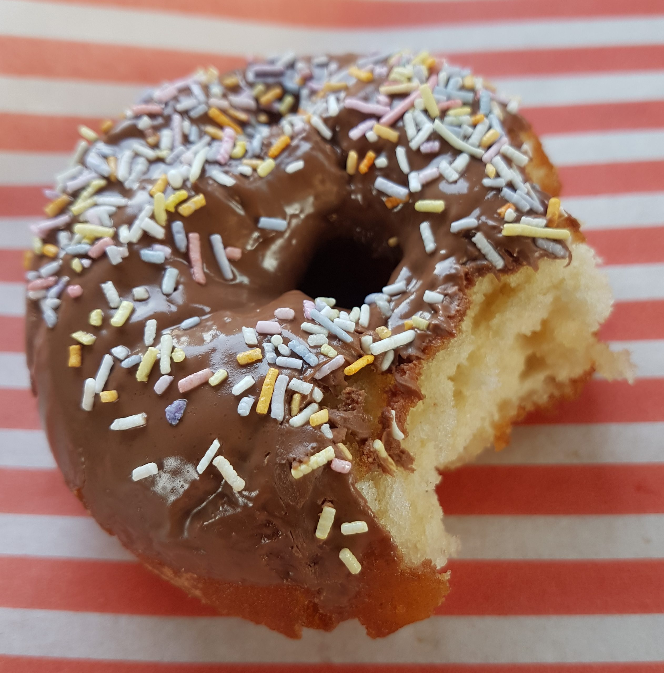 Topped donuts